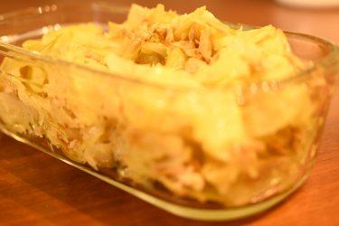 ホットクックで簡単、絶品!ツナキャベツのカレーマヨ風味
