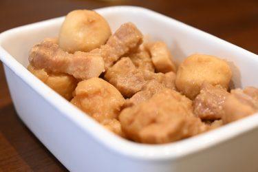 ホットクックで豚バラと里いものみそ煮